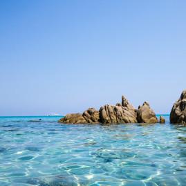 baia chia on Sardegna, Italy